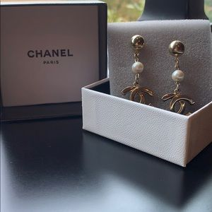 SOLD***Authentic CHANEL earrings